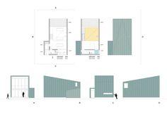 Variantes Vivienda Granero / A´ - Alberich-Rodriguez Arquitectos