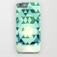 iPhone & iPod Case featuring Green Tribomb by ARTDROID $35.00