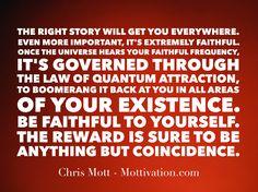 Sprinkles of wisdom to start the day - Chris Mott - www.mottivation.com