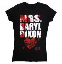 Mrs. Daryl Dixon t-shirt  $19.97