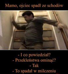 tata spadł ze schodów #humor #smieszne Laughing, Funny Memes, Good Things, Humor, Movie Posters, Fictional Characters, Inspiration, Ideas, Biblical Inspiration
