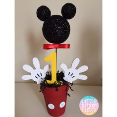 Mickey Mouse Mittelstücke 1. Geburtstag