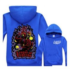 League of Legends plus size hoodie Jax pullover hoodies for men