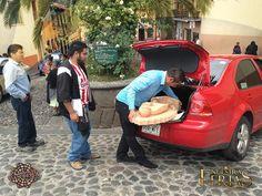 Entrega de una Virgen de Cantera para la #CDMX #NuestrasFerias #ExpoFeriaCantera #Tlalpujahua #PueblosMagicos