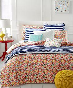Martha Stewart Whim Collection Pretty in Poppy Bedding Collection