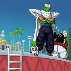 "Popo:""hahaha! Popo caught a butterfly!"" Dende: ""How long has he been going at it?"" Piccolo:""Four Hours..."" #SonGokuKakarot"