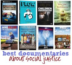 Best documentaries about social justice, as recommended by Kristen at Rage Against the Minivan.