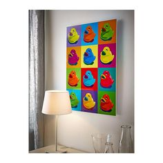 KNISTA picture created by Clara Wells.  $9.99 from IKEA.  For a Pop Art baby shower?