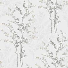 Arthouse Imagine Fern Motif Leaf Wallpaper Natural - Wallpaper from I Love Wallpaper UK Bathroom Wallpaper Trends, Fern Wallpaper, Neutral Wallpaper, Silver Wallpaper, Vinyl Wallpaper, Pattern Wallpaper, Easy Wallpaper, Cream Wallpaper, Feature Wallpaper