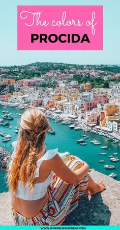 Procida is the smallest yet the most colorful island in the Gulf of Naples. Today I want to inspire you to visit this fairytale place in Italy!