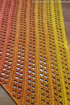 Knitted Shawls, Crochet Scarves, Crochet Shawl, Crochet Clothes, Knit Crochet, Easy Crochet Patterns, Baby Knitting Patterns, Hand Knitting, Crochet Capas