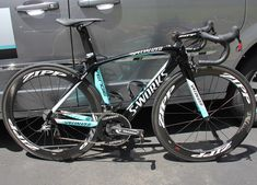 Team Omega Pharma–Quick-Step's Specialized S-Works Venge, Tour of California - 2014