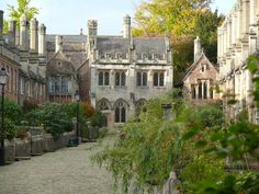wells england   Vicars' Close, in Wells, Somerset, England.