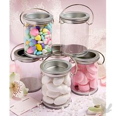 Adorable way to display candy and decorate a counter while doing so.  Great price too!  $1.71