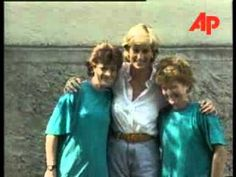 Princess Diana in Bosnia (Rare Footage) (+playlist)
