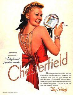 Chesterfield cigarettes - 1941