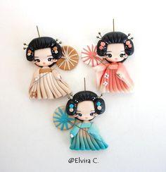 Geisha necklace work in progress by elvira-creations on deviantART