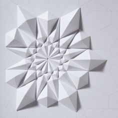 the simple beauty of folded paper