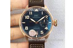 IWC Big Pilot Real PR IW5009 RG YLF Blue Dial A51111
