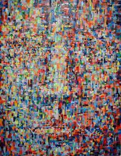 """Saatchi Art Artist Dejan Bozinovski; Painting, """"Anonymous Sold (USA)"""" #art"""