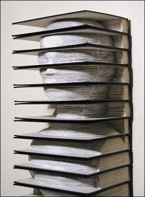 OMG. I have so read books that made me feel like this. So caught up in the word sound of the prose.  Book art unbelievable sculpture