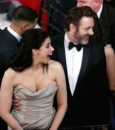Sarah Silverman & Michael Sheen from SAG Awards 2016: Candid Moments | E! Online