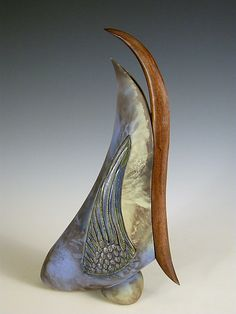 Wave Crest by Jan Jacque: Ceramic Sculpture available at www.artfulhome.com