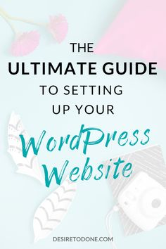 Nervous about setting up your first WordPress website? Don't be! In this post, I'll walk you through every step, with screenshots! Home Based Business, Business Tips, Online Business, Work From Home Jobs, Make Money From Home, Virtual Assistant Services, Quitting Your Job, Hosting Company, Starting A Business