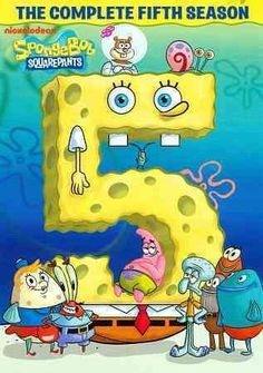 This release features every episode of SPONGEBOB SQUAREPANTS: THE COMPLETE FIFTH…