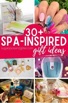What woman doesn't love a day of pampering and relaxing? These Spa-inspired Gifts let her indulge at home and are way cheaper than a trip to the spa! Spa Gift Ideas My daughter loves our at-home spa nights. We get some healthy treats, big mugs of tea, pamper ourselves with pedicures or face masks, and …