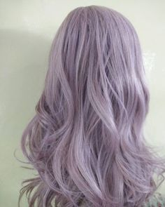 # # Related posts:Purple Hair Color Ideas for Blonds Which Carry the Best Quality 45 Incredible lavender hair wiping your head # 45 Wigs® Triflect™ Collection - Purple White Ombre Hair, Light Purple Hair, Hair Color Purple, Hair Dye Colors, Gray Hair, Pastel Lavender Hair, Pastel Blue Hair, Rainbow Pastel, Pelo Ulzzang