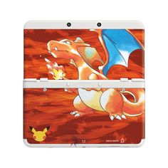 I NEEDS IT - This New Nintendo 3DS comes with the Pokémon Red Version and Pokémon Blue Version games pre-installed, 2 cover plates, and a download code for an exclusive Nintendo 3DS Pokémon HOME Menu theme.