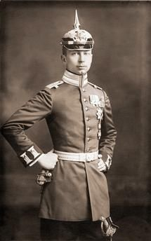 Joachim, 17.12.1890 – 18.7.1920, Prince of Prussia, half length, lieutenant in the Prussia 1st Regiment of Footguards, picture postcard, Sandau-Sellin, Berlin, circa 1912