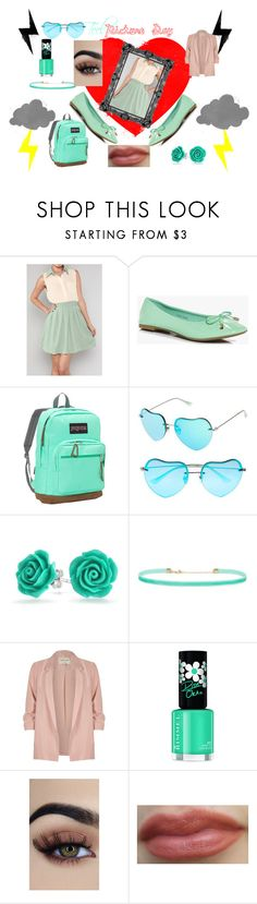 """Have a TEEL picture Day"" by amandavipul on Polyvore featuring Boohoo, JanSport, SO, Forever 21, River Island and Rimmel"