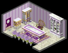 Lavender Office in my house
