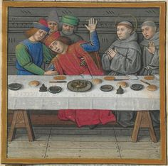 BONAVENTURE (saint), card. O.F.M. Vie et miracles de saint François d'Assise Date d'édition : XVe siècle, vers 1480 NAF 28640 Folio 76r