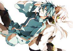 Mekakucity actors / Kagerou daze - Ene & Konoha (genderbend) by Hama on pixiv