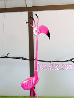 Recycled Golf Club Flamingo  Free Shipping on Etsy, $40.00
