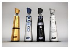 Evian Star Wars Water by Mandy Brencys PD