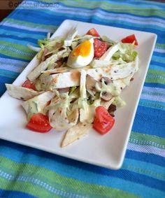 Tortillás saláta Tortillas, Food And Drink, Cheese, Baking, Mince Pies, Bakken, Backen, Sweets, Pastries