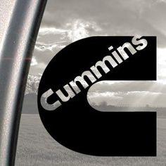 Amazon.com: CUMMINS Black Decal Truck Bumper Window Vinyl Sticker: Automotive