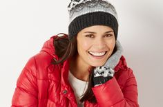 Make winter even more perfect with our packable puffer jacket.  Plus Size Fashion from Woman Within.