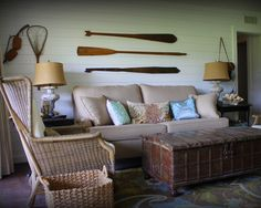 Lake House   Tropical   Living Room   Dallas   Amy Hopkins Designs Small  Lake Houses
