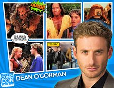 We are excited to announce our next Salt Lake Comic Con 2014 guest... actor, artist, and photographer, Dean O'Gorman! Dean is best known for playing the dwarf Fíli in The Hobbit movie trilogy, and for playing Anders in the New Zealand fantasy series The Almighty Johnsons (official). Dean appeared in Hercules: The Legendary Journeys, Xena: Warrior Princess, Young Hercules opposite Ryan Gosling, and in McLeods' Daughters, as Luke Morgan. CLICK to learn more about Dean!