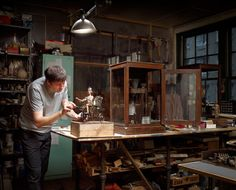 Tom Haney in his Atlanta Studio. Image © Gregory Campbell Photography.