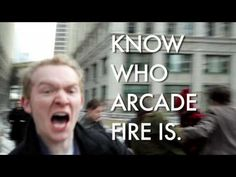 Arcade Fire Hipster Attack. Don't care for the language; but sometimes I think I am a closet hipster...