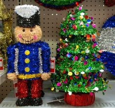 Tinsel Nutcracker