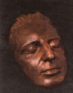 The face of Mozart?  It has been recorded that Mozart's death mask was made by Count Josef Deym von Stritetz on 12/5/1791 shortly after Mozart's death that day. Like all such masks of its time it was likely made of gypsum. Neither the original, nor a copy reportedly made for Contstanze Mozart survives. The death mask in this photograph is reported to be an unauthenticated bronze copy which was discovered in 1947. It is on display within Mozart's home in Vienna, Austria.