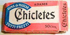 ...ter mascado chicletes Adams quando ainda vinham nesta embalagem.