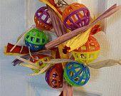 Tambourine - Bird Toys (Lovebird, Cockatiel, Budgie, Parrotlet)